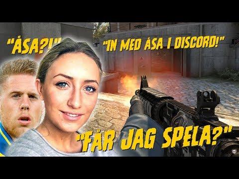 ÅSA TAR ÖVER! | CSGO med Pontus Jansson, ArgaSkånskaMän & co
