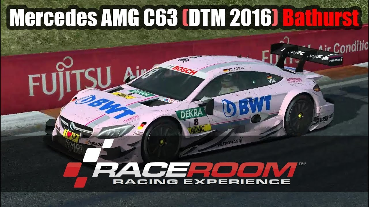 Mercedes Amg C63 Dtm 2016 Bathurst Raceroom Vr Sim