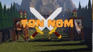 Intro template gratuite clash of clans