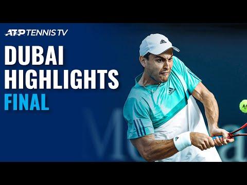 Lloyd Harris v Aslan Karatsev | Dubai 2021 Final Highlights