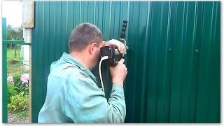 видео Антивандальный крепеж укрепление профилированных листов