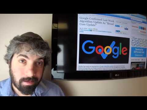 Google Core Algorithm Update, Autocomplete Changes, Negative SEO, Hijacks & One Line AdWords