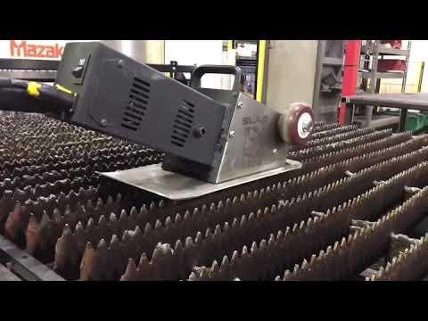 Slag Hog Slat Grate Cleaner Tool - For Fiber & Co2 Laser Cutting Machines