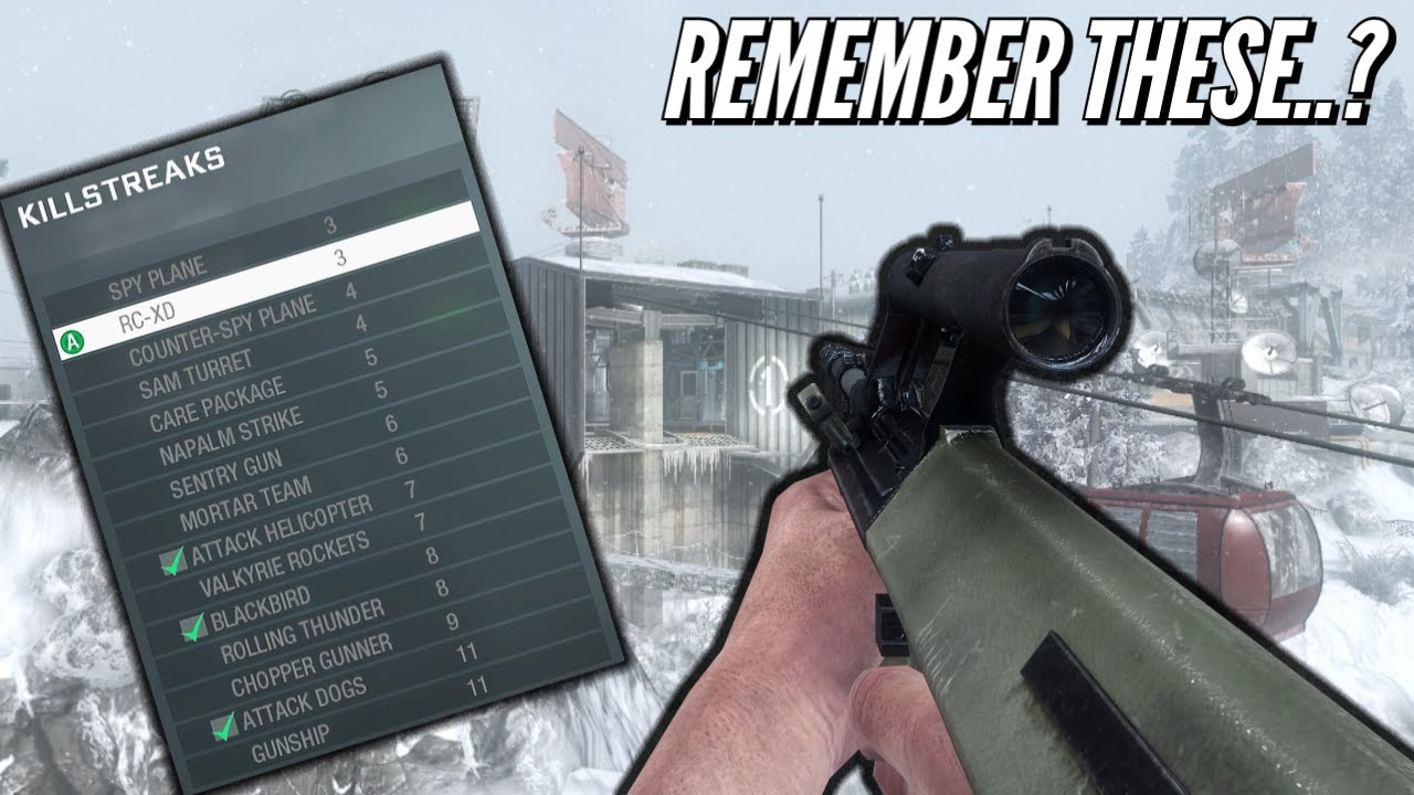 Remember The Kill Streaks From Black Ops 1..?
