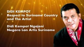 Video Didi Kempot - Go Suriname Sept  2018 [Official] download MP3, 3GP, MP4, WEBM, AVI, FLV Agustus 2018