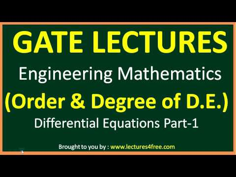differential-equation-part--1-(order-&-degree-of-differential-equation)-engineering-mathematics-gate
