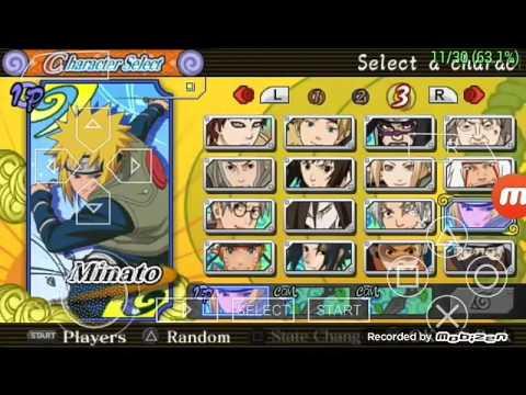 naruto ultimate ninja heroes 3 มินาโตะvsคาคาชิ