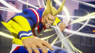 Final Battle All Might Vs All For One | My hero One