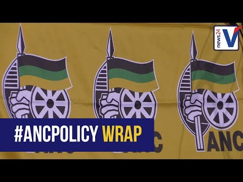 WATCH: ANC Policy Conference Day 1 Wrap