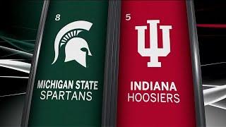 Michigan State vs. Indiana Highlights | 2018 Big Ten Baseball Tourney