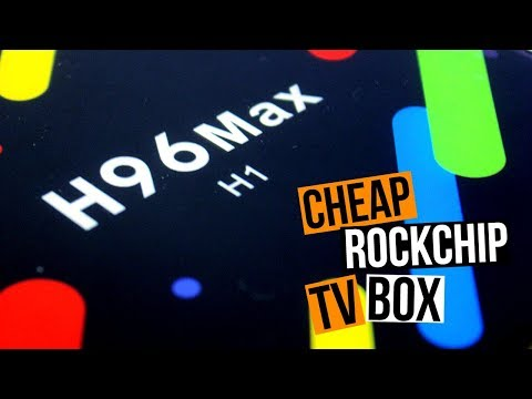 Great, Cheap Android TV Box - H96 Max (H1) Rockchip Powered TV Box Review