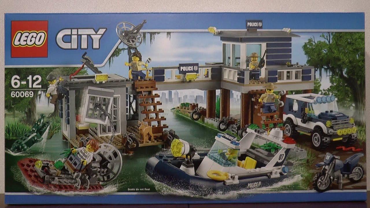 Lego City 60069 Posterunek Wodnej Policji Youtube