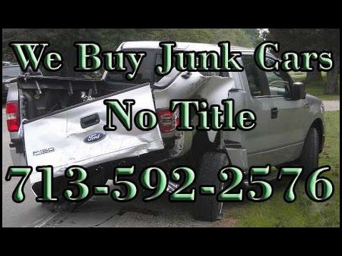 We Buy Junk Cars No Title