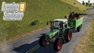"""🚜ФЕРМА на МИЛЛИОН! ВЫЖИВАНИЕ в """"РЕЙВЕНПОРТ""""! Farming Simulator 19"""