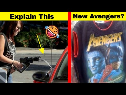 Funny Fails That Can't Be Explained Logically