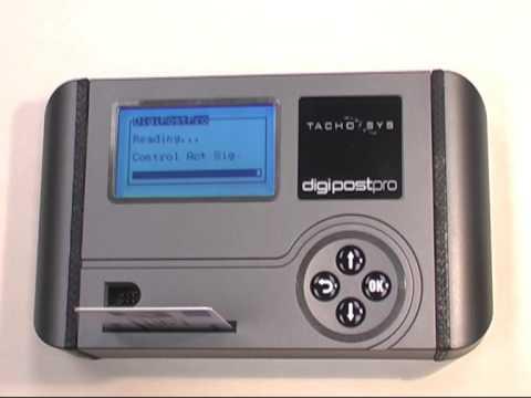 digipostpro digital tachograph download terminal youtube. Black Bedroom Furniture Sets. Home Design Ideas