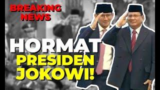 Kompak! Salam Hormat Prabowo-Sandiaga Uno untuk Jokowi