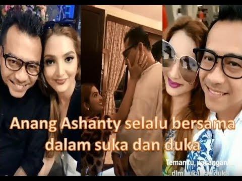 Anang Ashanty selalu bersama dalam suka dan duka 😘