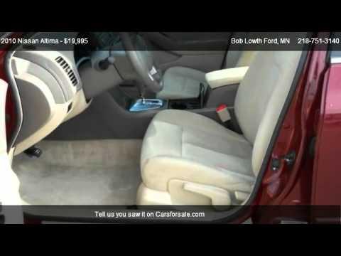 Bob Lowth Ford >> Nissan Altima S Bob Lowth Ford Youtube