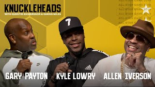 Allen Iverson, Kyle Lowry and Gary Payton join Knuckleheads with Quentin Richardson & Darius Miles