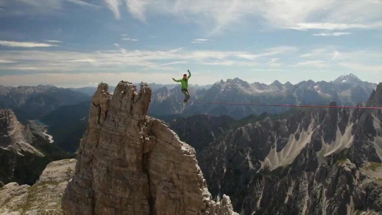 Highline Tre Cime Di Lavaredo Hd Youtube