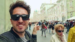 Смотреть видео Увидел Чемпионат мира по футболу в Москве. ЧМ 2018 онлайн