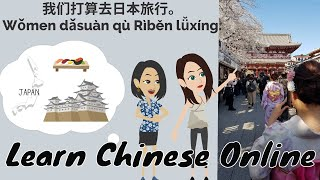 Chinese Journal, Chinese Writing, Chinese Reading | Learn Chinese Online 在线学习中文 | 去年夏天,我和妹妹一起去美国旅行