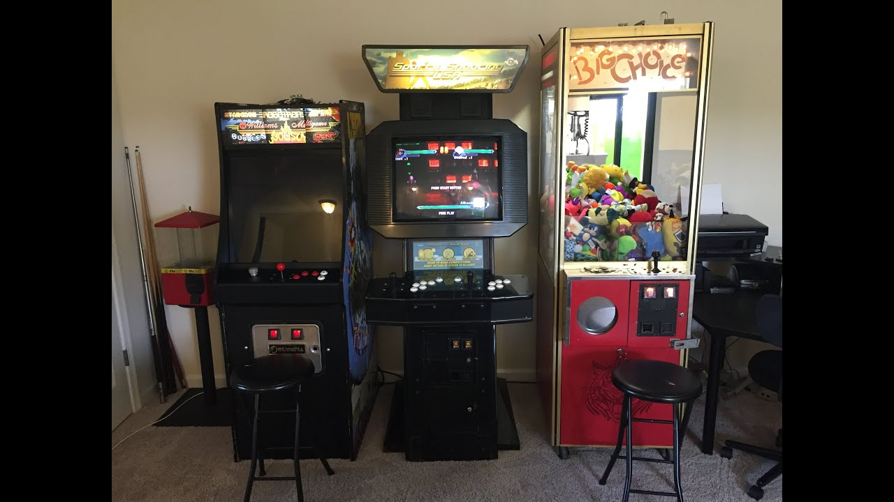 Moving Arcade Video Game Claw Machine From Garage To Room