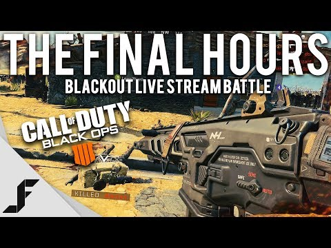 The Final Hours - COD Blackout Livestream Battle