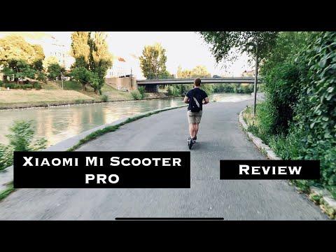 Xiaomi Mi Elektro Scooter Pro E Review Test Reichweite Deutsch German