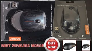 lenovo 300 wireless compact mouse installation