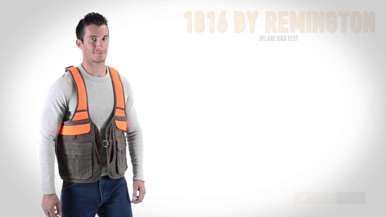 1816 by remington 1816 upland bird vest for men youtube