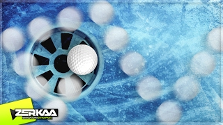 the bounciest ice balls golf it