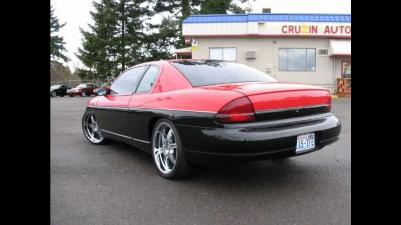 Custom modified car chevrolet monte carlo ls 1996 air ride suspension 3 995 only youtube