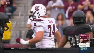 Texas A&M vs South Carolina 2015 - Highlights