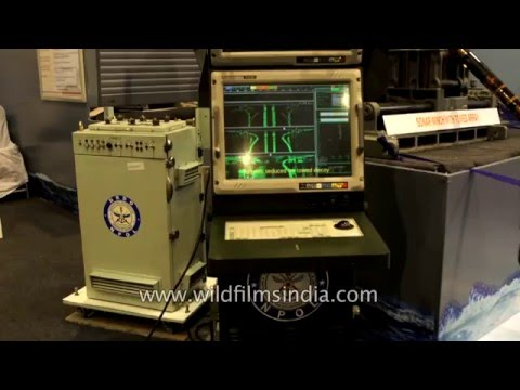 Sonar Operation Console developed by DRDO, India