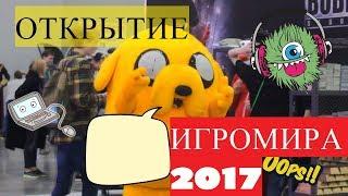 Тусуюсь на Открытии Игромира 2017 !