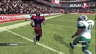 Backbreaker Football Montage (one game minitage) [HD]