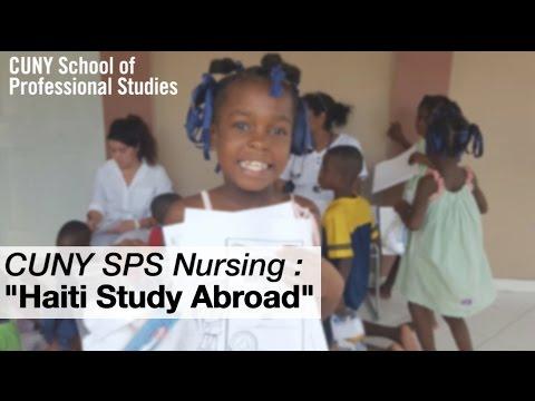 CUNY SPS Nursing Program: Haiti Study Abroad