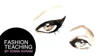 How to paint eyebrows and eyes Thumbnail