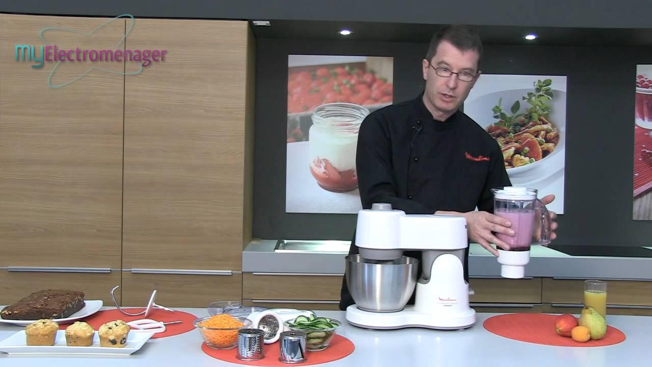 Moulinex robot masterchef compact youtube - Robot cuisine masterchef ...