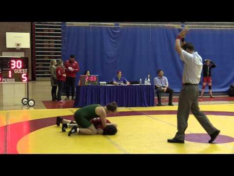 2015 Canada West Championships: 67 kg Anne-Cecile Panchaud vs. Kayla Brodner