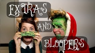 EXTRAS & BLOOPERS - GRINCH MAKEOVER WITH ZOELLA