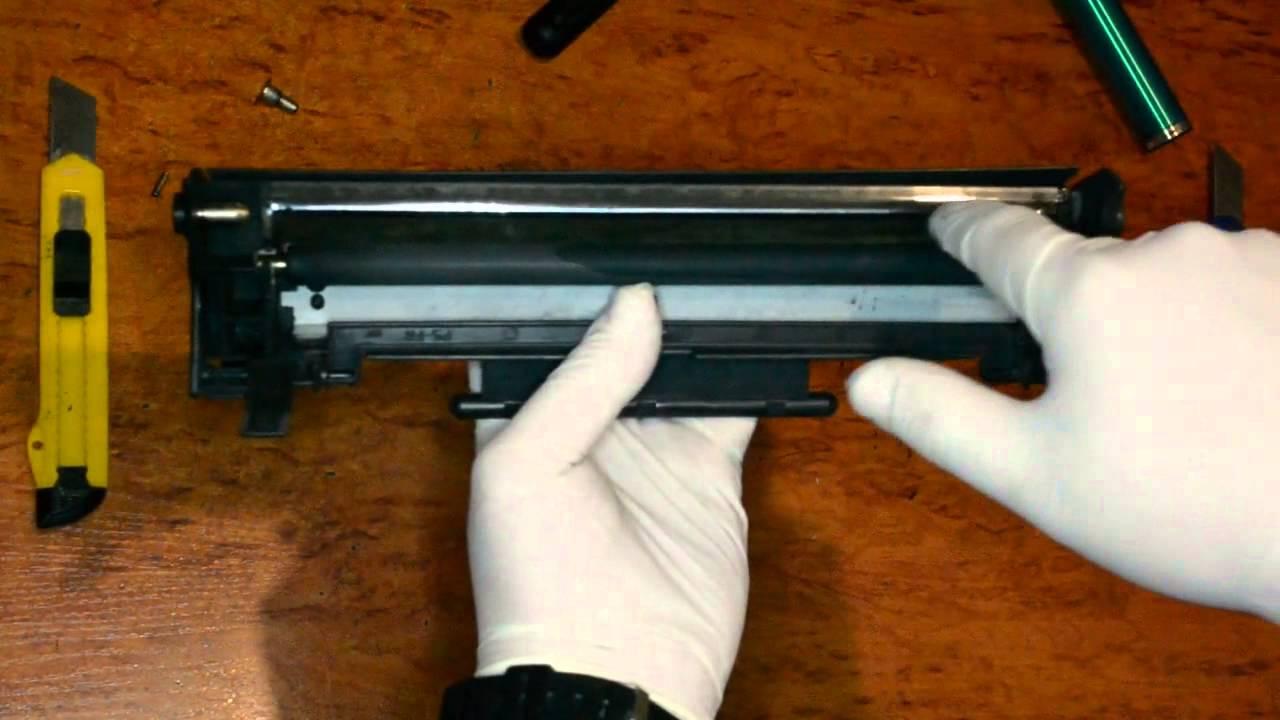 Инструкция по заправке картриджей canon ep 22