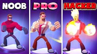 NOOB vs PRO vs HACKER – Invincible Hero (iOS)