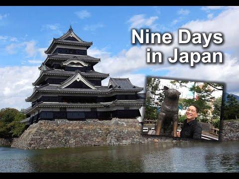 Nine Days in Japan