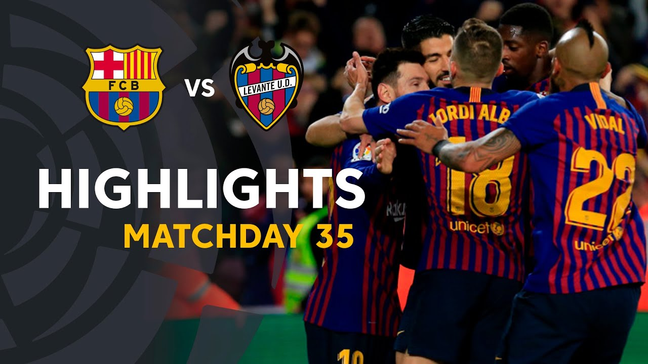 a76aef309 Barcelona vs Levante (27 Apr 2019) 🔥 Video Highlights - FootyRoom