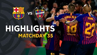 Download Video Highlights FC Barcelona vs Levante UD (1-0) MP3 3GP MP4