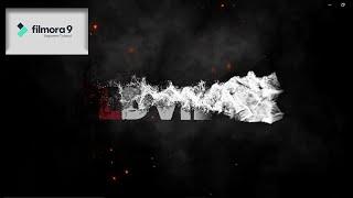 How to make intro for youtube videos in filmora    How to make Smoke Effect Intro   Faizan creations screenshot 3