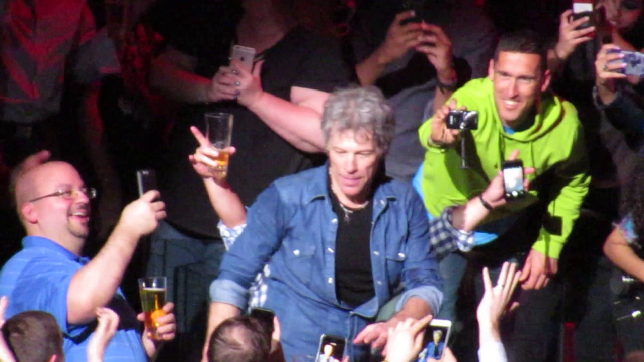 Bon Jovi Bad Medicine Madison Square Garden April 13